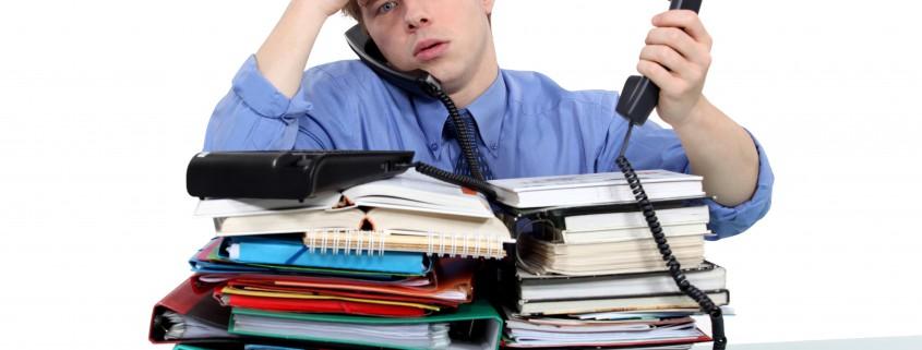 Stress op het werk