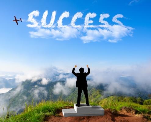 Succes voor de toekomst